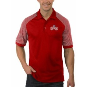 Antigua アンティグア スポーツ用品  Antigua LA Clippers Red Engage Big & Tall Polo