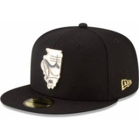 New Era ニュー エラ スポーツ用品  New Era Chicago Bulls Black Gold Stated 59FIFTY Fitted Hat