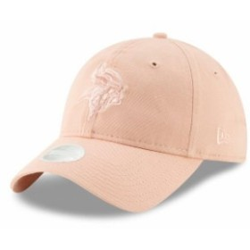 New Era ニュー エラ スポーツ用品  New Era Minnesota Vikings Womens Light Pink Core Classic Fashion 9TWENTY Adjustable