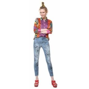desigual デシグアル ファッション 女性用ウェア ズボン desigual hibiscus