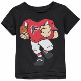 Outerstuff アウタースタッフ スポーツ用品  Atlanta Falcons Black Team Logo Football Dreams T-Shirt