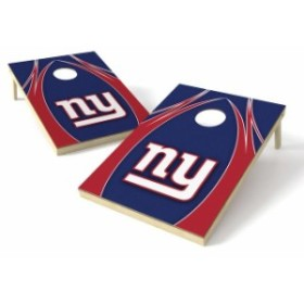 Wild Sales ワイルド セールス スポーツ用品  New York Giants 2 x 3 Logo Shield Tailgate Toss Game