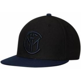 Fi Collection フィ コレクション スポーツ用品  Fi Collection Black Inter Milan Team Snapback Adjustable Hat