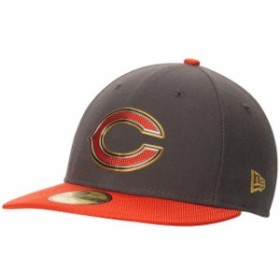 New Era ニュー エラ スポーツ用品  New Era Chicago Bears Graphite Gold Collection On Field Low Crown 59FIFTY Fitted Ha