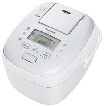 パナソニック可変圧力IH炊飯ジャー(5.5合炊き)KuaL 可変圧力おどり炊きホワイトSR-PB10E7-W