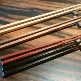 夫婦箸(黒檀と紫檀)