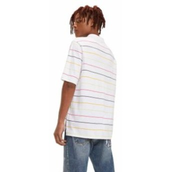 tommy-jeans トミー ジーンズ ファッション 男性用ウェア ポロシャツ tommy-hilfiger multicolor-fine-stripe