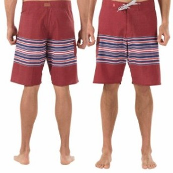 Vans バンズ スポーツ用品 Vans Off The Wall 4-Way Stretch Boardshort - Merlot