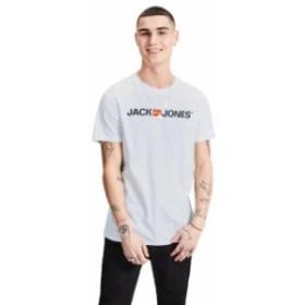 jack---jones ジャック & ジョーンズ ファッション 男性用ウェア Tシャツ jack-&-jones jjecorp-logo-crew-neck
