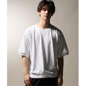 JOURNAL STANDARD relume policott 樽型オーバーサイズTシャツ ホワイト L