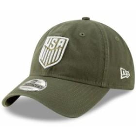 New Era ニュー エラ スポーツ用品  New Era USMNT Green Slouch Adjustable Hat