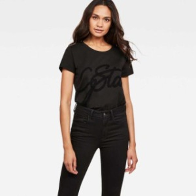 gstar ジースター ファッション 女性用ウェア Tシャツ gstar graphic-2-r-t-wmn