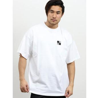 【semantic design:トップス】プーマ/PUMA CHECKBOARD TEE/クルーネック半袖Tシャツ