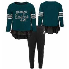 Outerstuff アウタースタッフ スポーツ用品  Philadelphia Eagles Girls Toddler Midnight Green Mini Formation Set