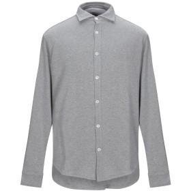 《期間限定セール開催中!》ELEVENTY メンズ シャツ グレー S コットン 100%