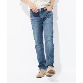 Levi's 「513」スリムストレートデニムパンツ メンズ 中濃加工色