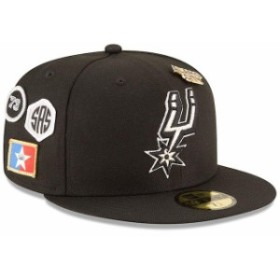 New Era ニュー エラ スポーツ用品  New Era San Antonio Spurs Youth Black 2018 Draft 59FIFTY Fitted Hat