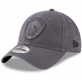 New Era ニュー エラ スポーツ用品  New Era Oakland Raiders Graphite Core Classic Tonal 9TWENTY Adjustable Hat