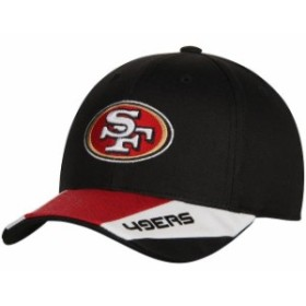 Outerstuff アウタースタッフ スポーツ用品  San Francisco 49ers Youth Black Stealth Structured Adjustable Hat
