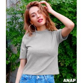 【セール開催中】ANAP(アナップ)ハイネック半袖トップス