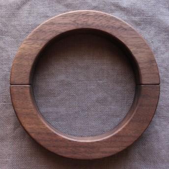 ウッドリングタッセル 天然木を使用したマグネットタイプ(ウォールナット)