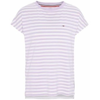 tommy-jeans トミー ジーンズ ファッション 女性用ウェア Tシャツ tommy-hilfiger stripe-boat-neck