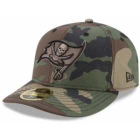 New Era ニュー エラ 服  New Era Tampa Bay Buccaneers Woodland Camo Low Profile 59FIFTY Fitted Hat