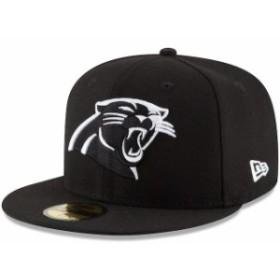 New Era ニュー エラ スポーツ用品  New Era Carolina Panthers Black B-Dub 59FIFTY Fitted Hat