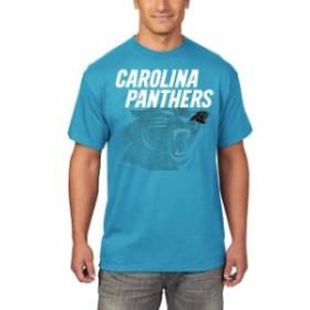 Majestic マジェスティック スポーツ用品  Majestic Carolina Panthers Blue Empty Backfield T-Shirt