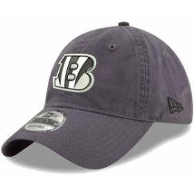 New Era ニュー エラ スポーツ用品  New Era Cincinnati Bengals Charcoal Paramount 9TWENTY Adjustable Hat