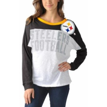 G-III 4Her by Carl Banks ジースリー フォーハー バイ カール バンクス スポーツ用品 Pittsburgh Steelers W