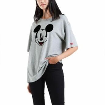 levis リーバイス ファッション 女性用ウェア Tシャツ levi s-(R) x-mickey-mouse-graphic-slacker