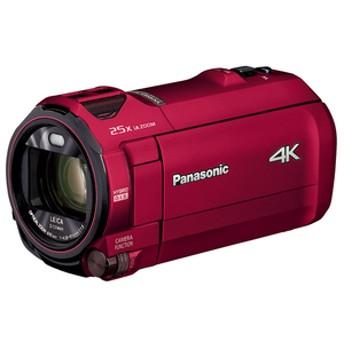 パナソニック64GB内蔵メモリー デジタル4KビデオカメラアーバンレッドHC-VX992M-R