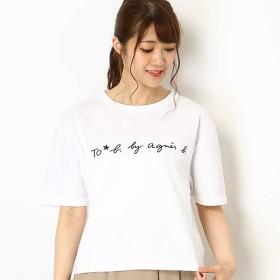 [マルイ] WG29 TS ロゴTシャツ/トゥービーバイアニエスベー(To b. by agnes b.)