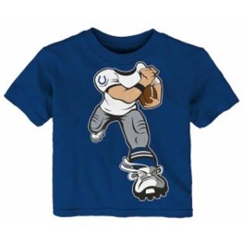 Outerstuff アウタースタッフ スポーツ用品 Indianapolis Colts Toddler Royal Yard Rush T-Shirt
