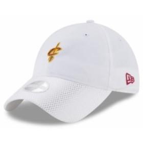 New Era ニュー エラ スポーツ用品  New Era Cleveland Cavaliers Womens White On-Court 9TWENTY Adjustable Hat