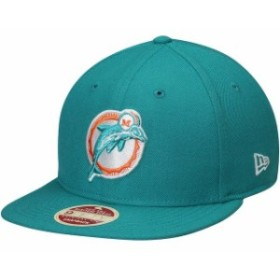 New Era ニュー エラ スポーツ用品  New Era Miami Dolphins Aqua Original Vintage 9FIFTY Adjustable Snapback Hat