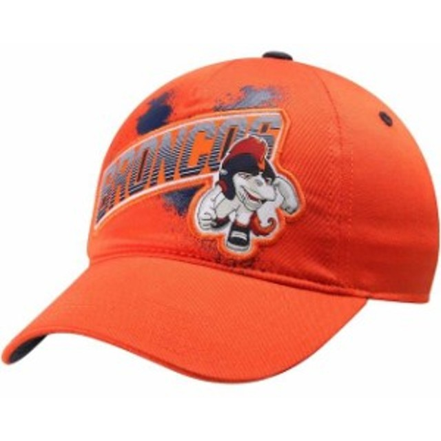 31f270a5a3bc08 Outerstuff アウタースタッフ スポーツ用品 Denver Broncos Youth NFL Rush Zone Rusher  Graphic Flex Hat -