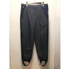 経堂) カラー kolor 切替 ストレッチ スラックス パンツ 15SS サイズ3 グレー ネイビー メンズ