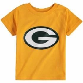 Outerstuff アウタースタッフ スポーツ用品  Green Bay Packers Toddler Gold Team Logo T-Shirt