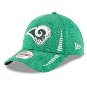 New Era ニュー エラ スポーツ用品  New Era Los Angeles Rams Kelly Green St. Patricks Day Speed 9FORTY Adjustable Hat