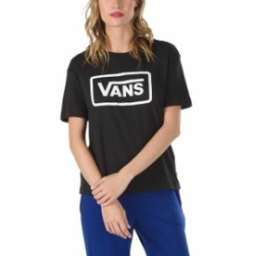 vans バン ファッション 女性用ウェア Tシャツ vans boom-boom-boxy