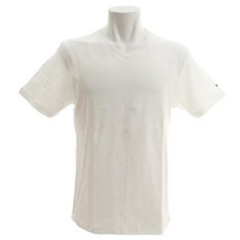 【Super Sports XEBIO & mall店:トップス】【オンライン特価】Vネック 半袖Tシャツ CH2BS9011 WHT