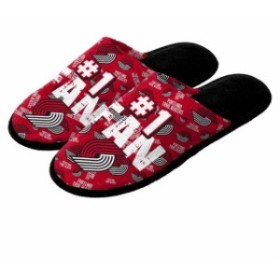 Forever Collectibles フォーエバー コレクティブル スポーツ用品  Portland Trail Blazers Youth Scuff Slide Slipp