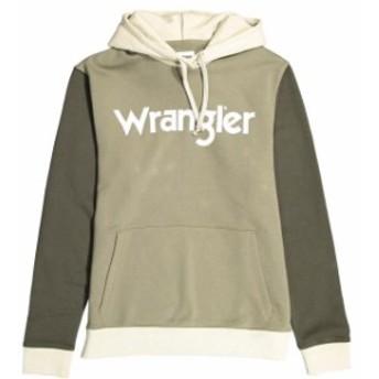 wrangler ラングラー ファッション 男性用ウェア パーカー wrangler colourblock-hoodie