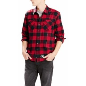 Levis リーバイス シャツ ポロシャツ Levis San Francisco 49ers Scarlet Barstow Western Long Sleeve Button-Up Shirt