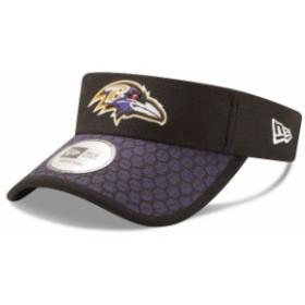 New Era ニュー エラ スポーツ用品  New Era Baltimore Ravens Black 2017 Sideline Official Visor
