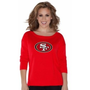 Touch by Alyssa Milano タッチ バイ アリッサ ミラノ 服 スウェット Touch by Alyssa Milano San Francisco 49ers Wo
