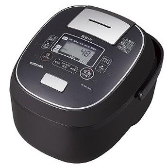 東芝 TOSHIBA 炊飯器 「グランブラック」[1升/IH](ビックカメラグループオリジナル) RC-BK18VRN-K グランブラック