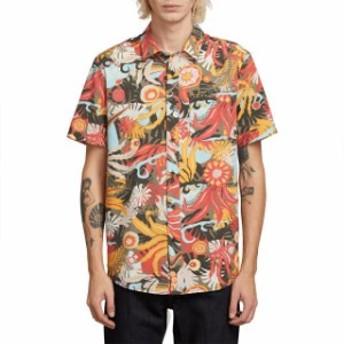 volcom ボルコム ファッション 男性用ウェア シャツ volcom psych-floral